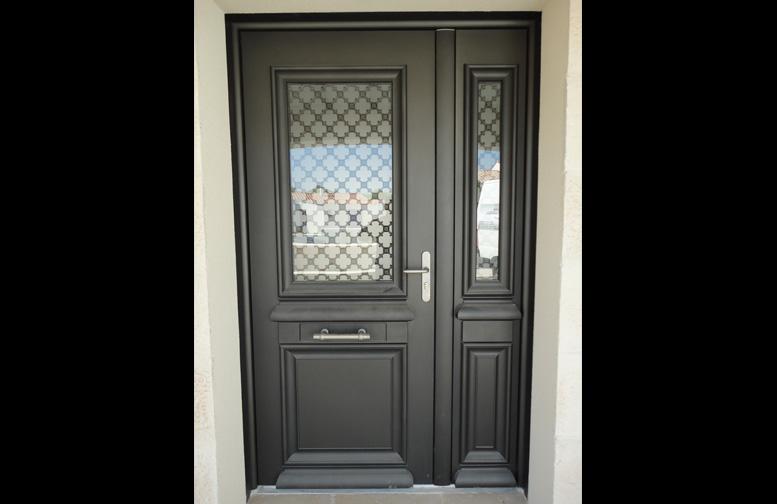 Porte aluminium 2 vantaux