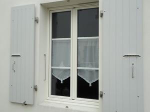 Fenêtre aluminium 2 vantaux