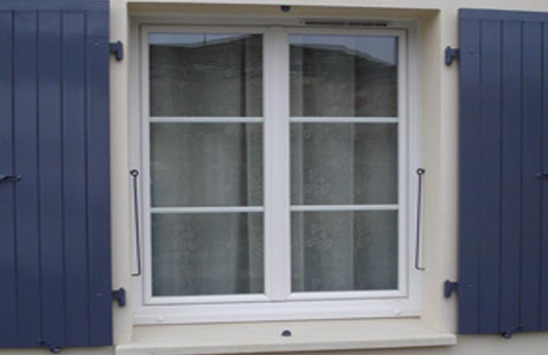 Fenêtre PVC 2 vantaux
